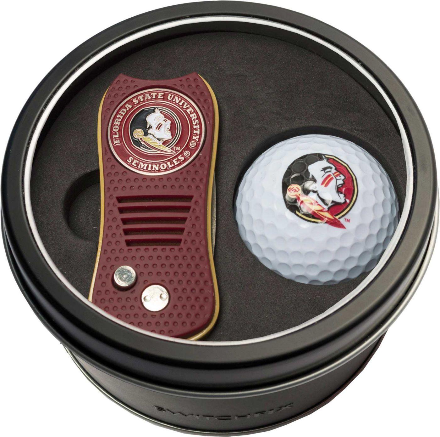 Team Golf Florida State Seminoles Switchfix Divot Tool and Golf Ball Set