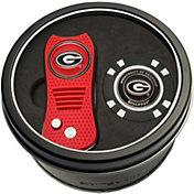 Team Golf Georgia Bulldogs Switchfix Divot Tool and Poker Chip Ball Marker Set