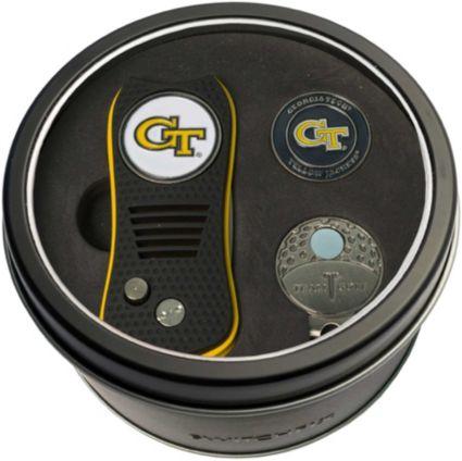 Team Golf Georgia Tech Yellow Jackets Switchfix Divot Tool and Cap Clip Set