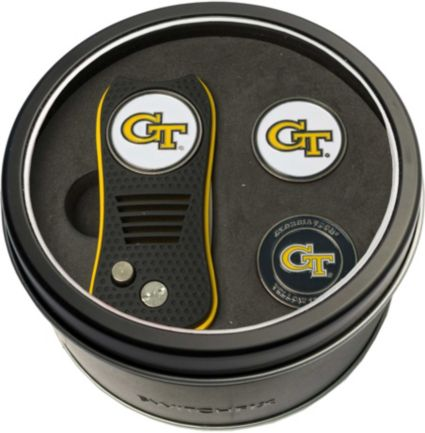 Team Golf Georgia Tech Yellow Jackets Switchfix Divot Tool and Ball Markers Set