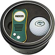 Team Golf Green Bay Packers Switchfix Divot Tool and Golf Ball Set