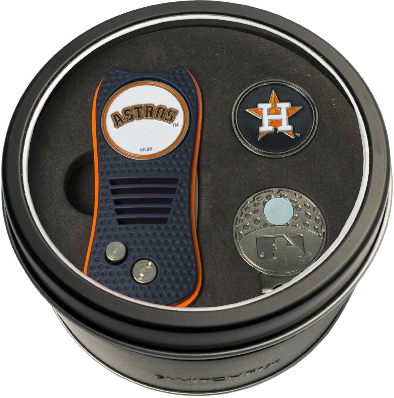 Team Golf Houston Astros Switchfix Divot Tool and Cap Clip Set