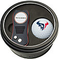Team Golf Houston Texans Switchfix Divot Tool and Golf Ball Set