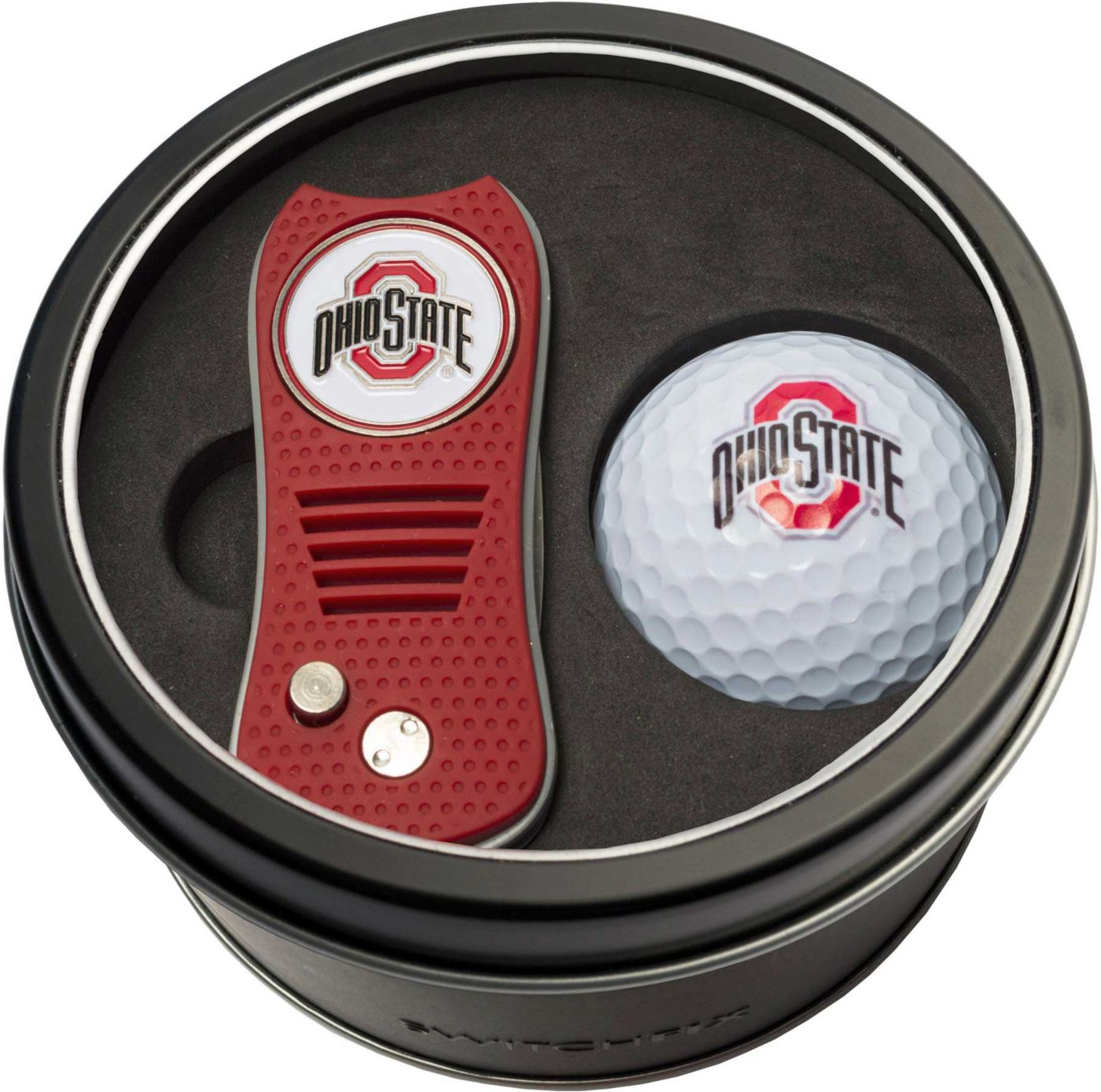 Team Golf Ohio State Buckeyes Switchfix Divot Tool and Golf Ball Set