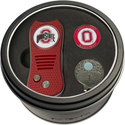 Team Golf Ohio State Buckeyes Switchfix Divot Tool and Cap Clip Set