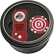 Team Golf Ohio State Buckeyes Switchfix Divot Tool and Poker Chip Ball Marker Set