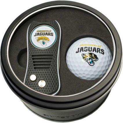 Team Golf Jacksonville Jaguars Switchfix Divot Tool and Golf Ball Set