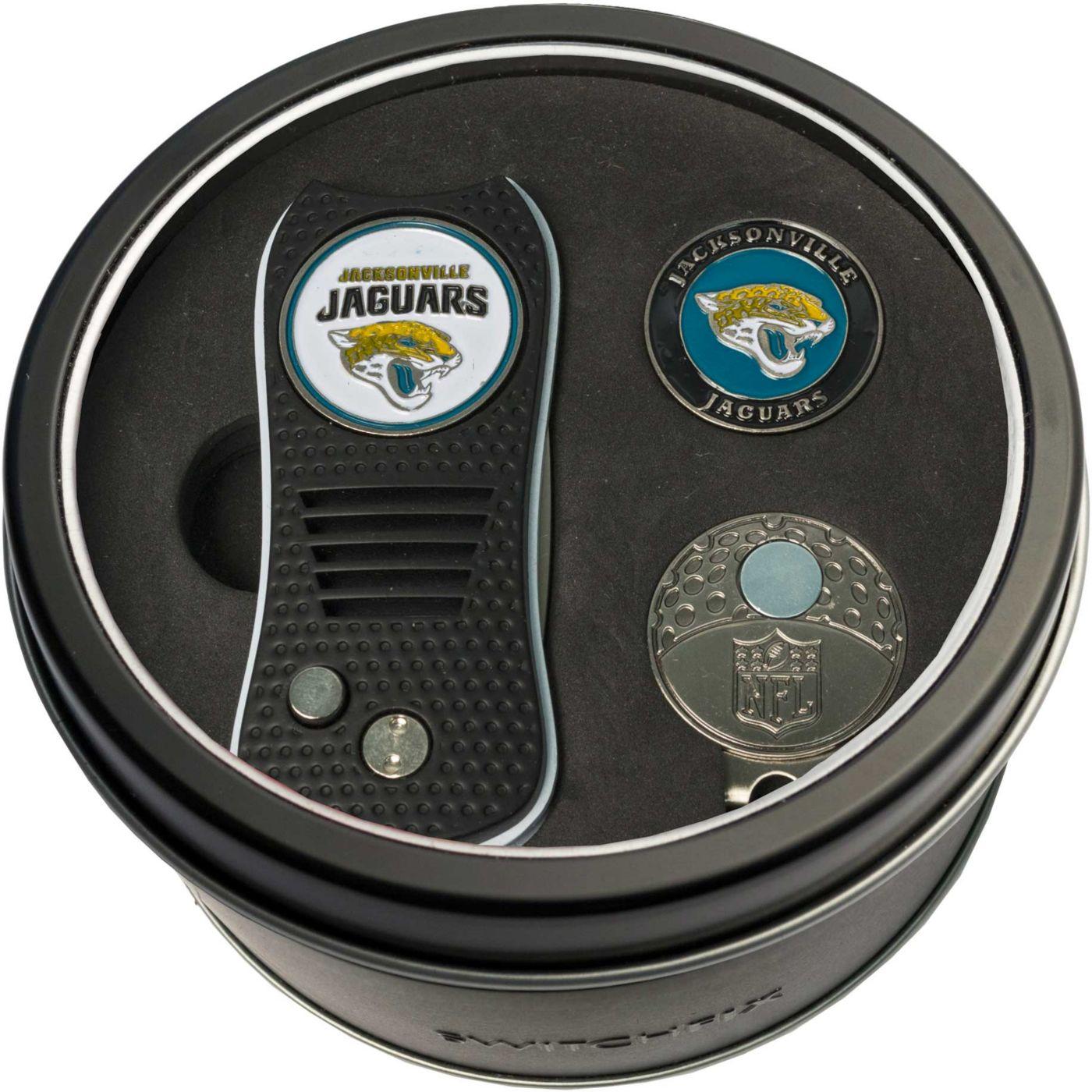 Team Golf Jacksonville Jaguars Switchfix Divot Tool and Cap Clip Set