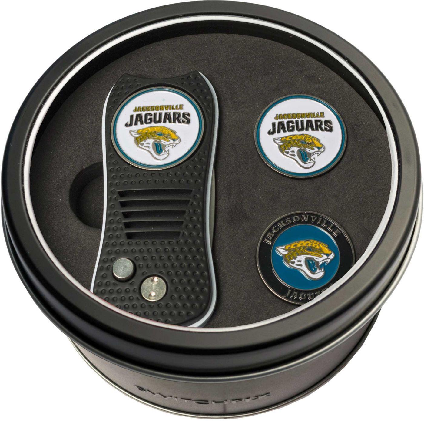 Team Golf Jacksonville Jaguars Switchfix Divot Tool and Ball Markers Set