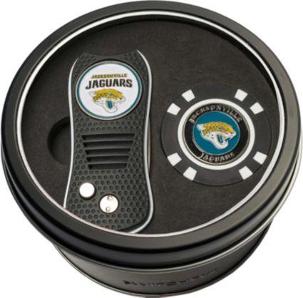 Team Golf Jacksonville Jaguars Switchfix Divot Tool and Poker Chip Ball Marker Set