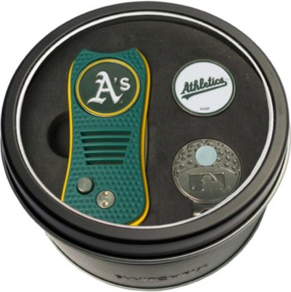 Team Golf Oakland Athletics Switchfix Divot Tool and Cap Clip Set