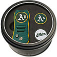 Team Golf Oakland Athletics Switchfix Divot Tool and Ball Markers Set