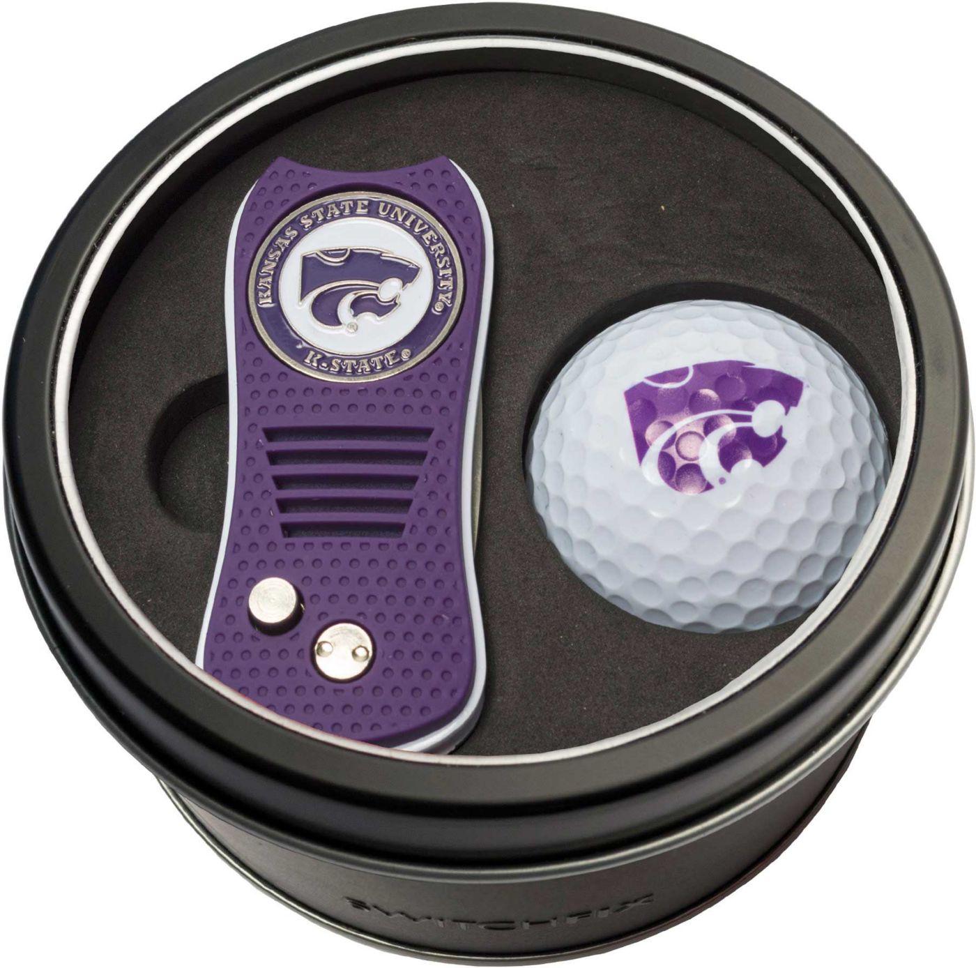 Team Golf Kansas State Wildcats Switchfix Divot Tool and Golf Ball Set