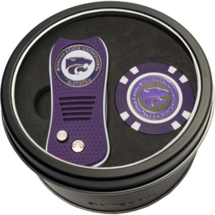 Team Golf Kansas State Wildcats Switchfix Divot Tool and Poker Chip Ball Marker Set
