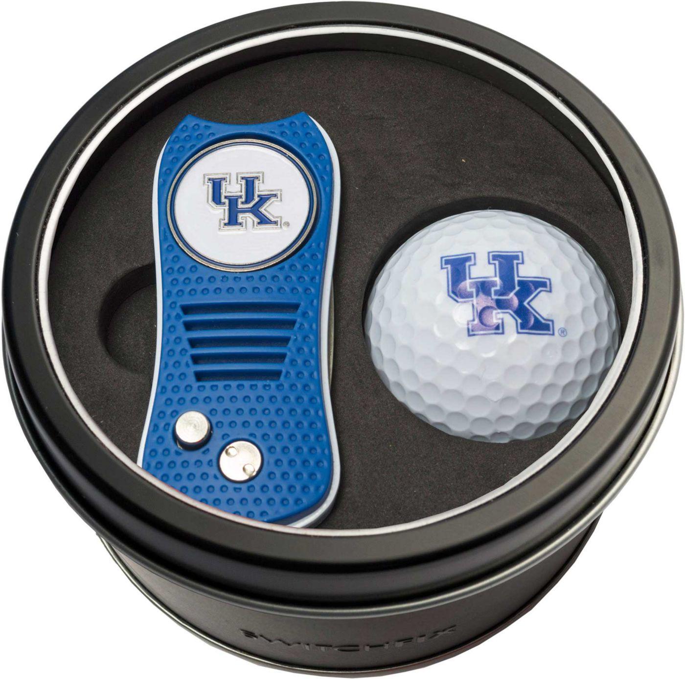 Team Golf Kentucky Wildcats Switchfix Divot Tool and Golf Ball Set