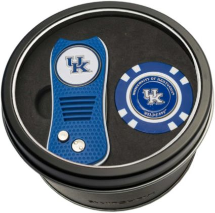 Team Golf Kentucky Wildcats Switchfix Divot Tool and Poker Chip Ball Marker Set