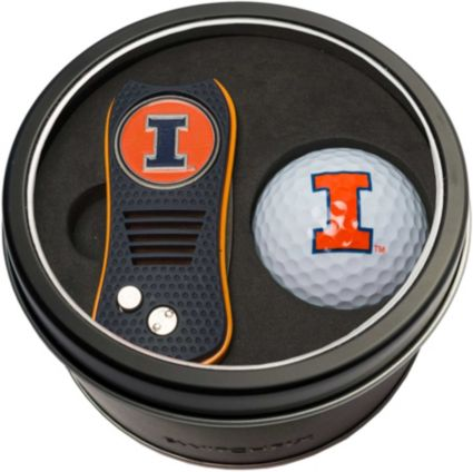 Team Golf Illinois Fighting Illini Switchfix Divot Tool and Golf Ball Set