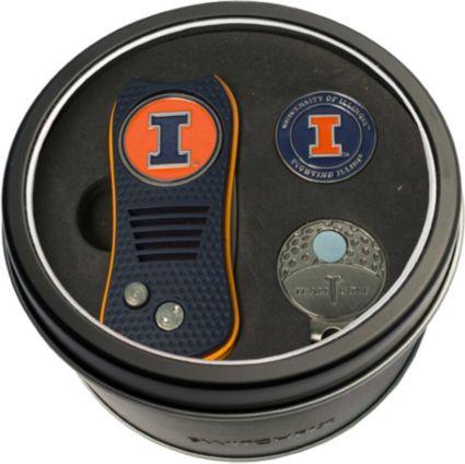 Team Golf Illinois Fighting Illini Switchfix Divot Tool and Cap Clip Set