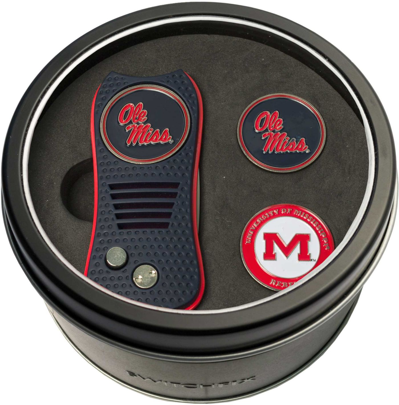 Team Golf Ole Miss Rebels Switchfix Divot Tool and Ball Markers Set