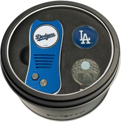 Team Golf Los Angeles Dodgers Switchfix Divot Tool and Cap Clip Set