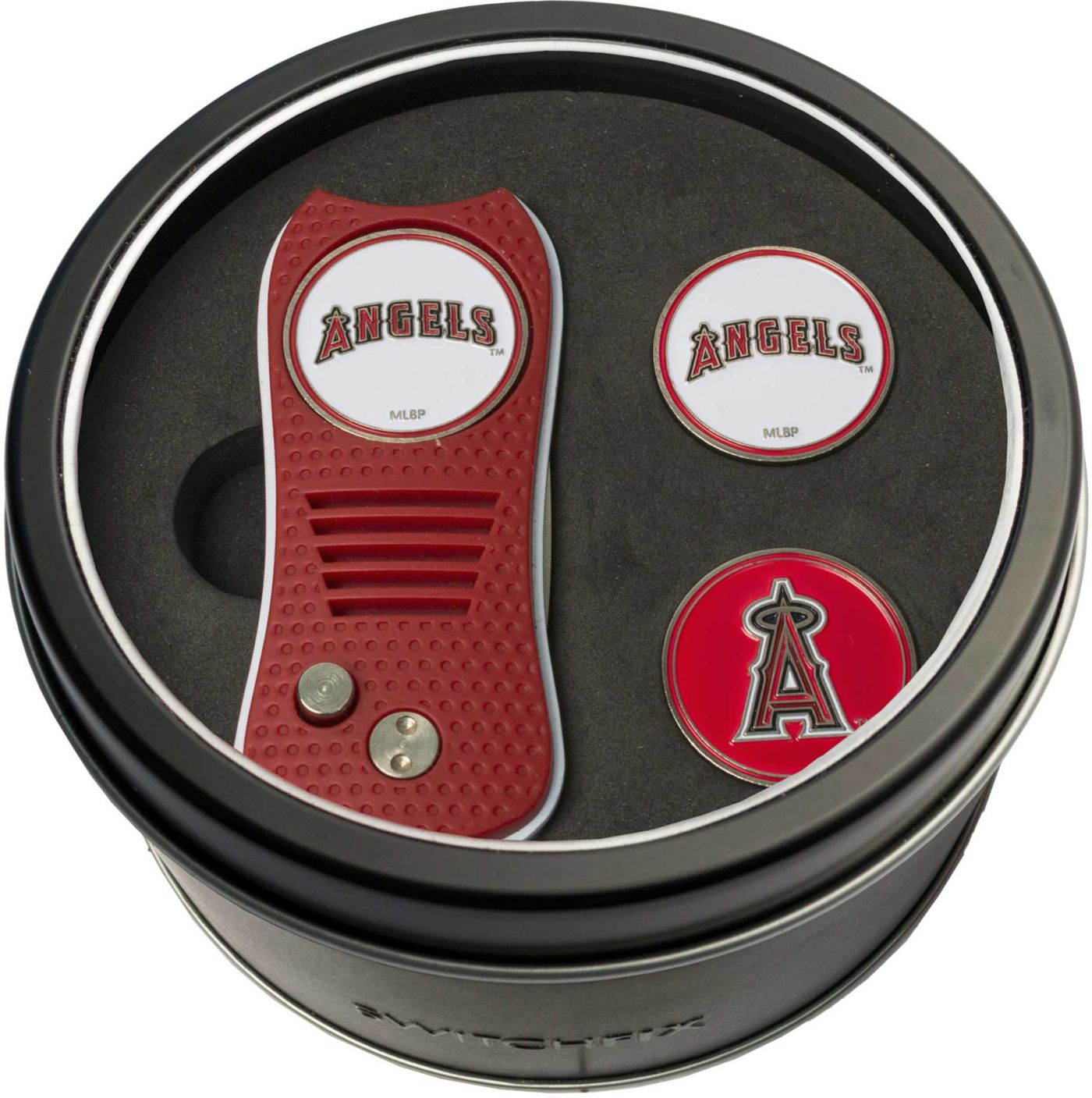 Team Golf Los Angeles Angels Switchfix Divot Tool and Ball Markers Set
