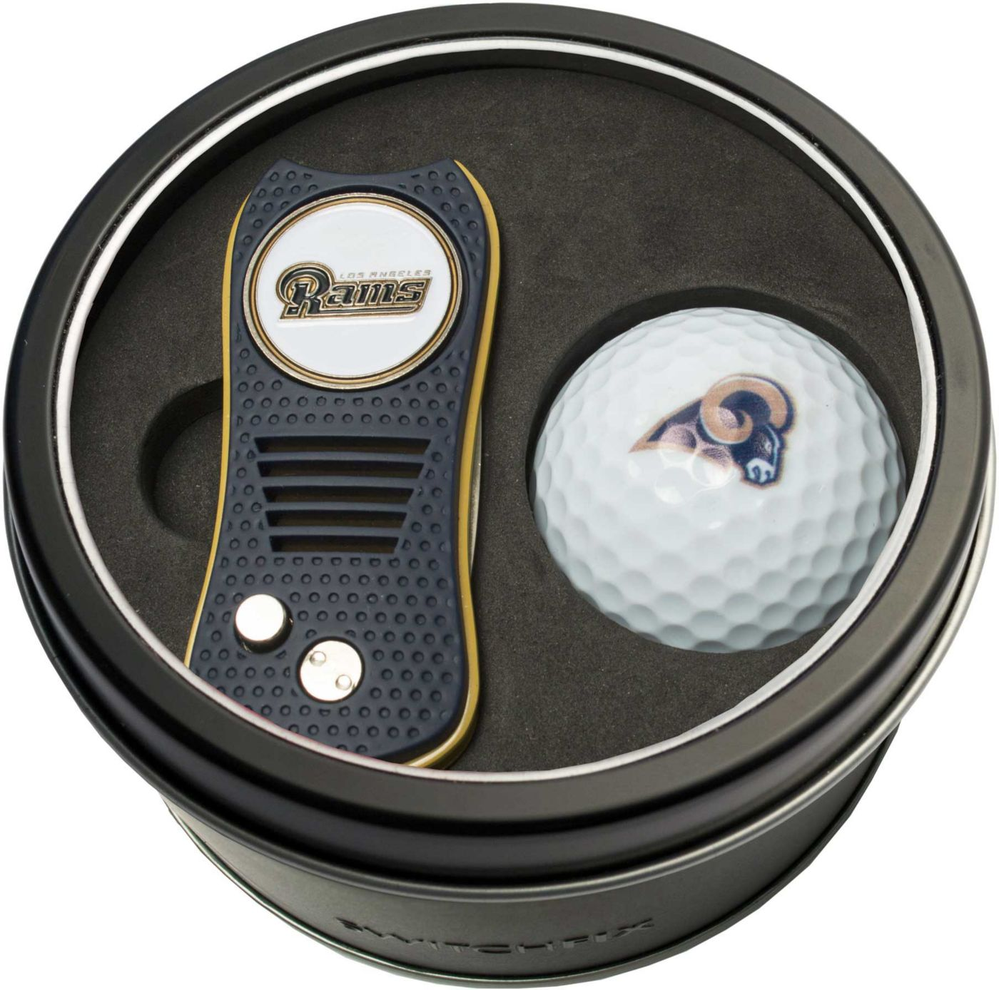 Team Golf Los Angeles Rams Switchfix Divot Tool and Golf Ball Set