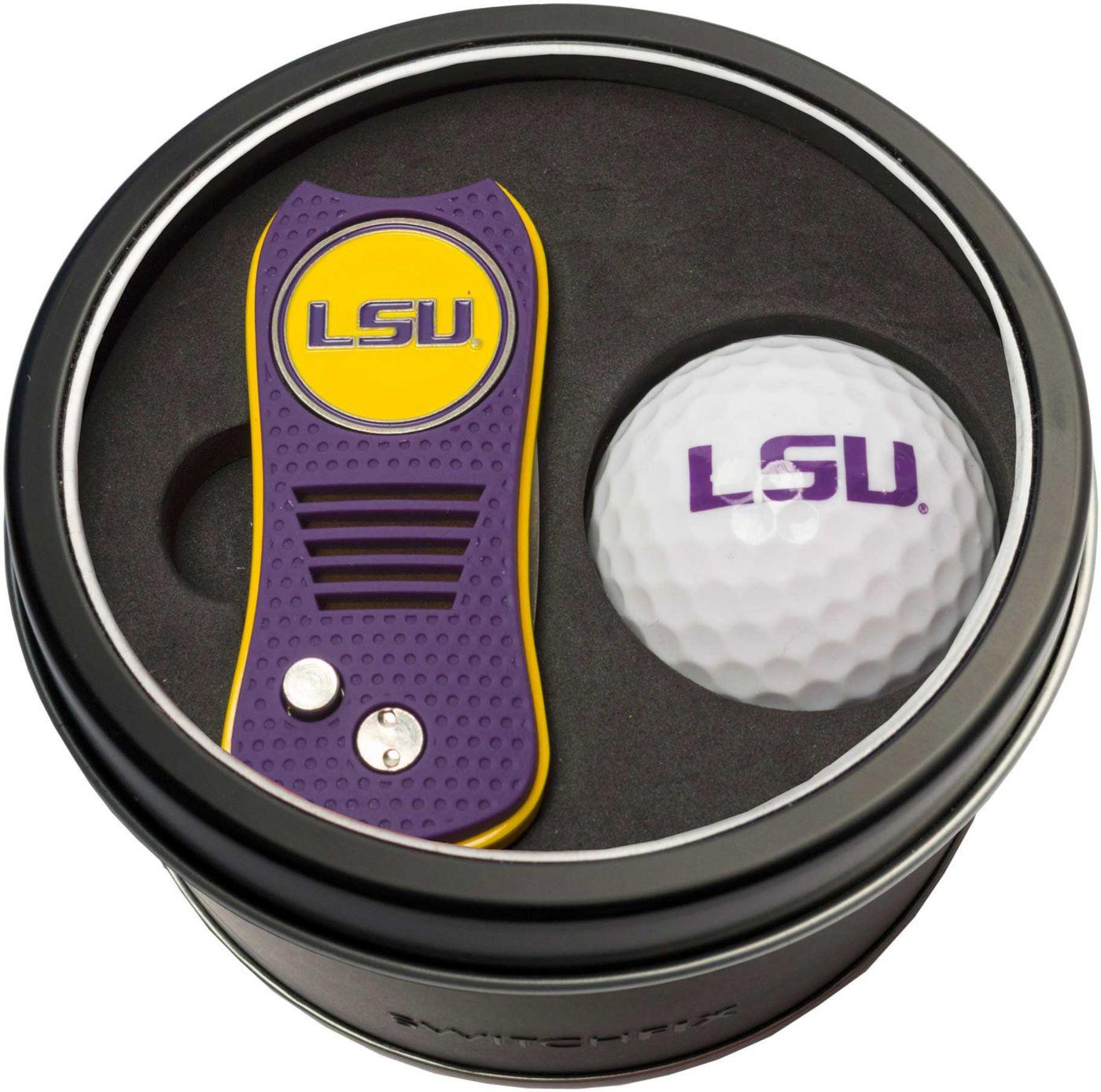 Team Golf LSU Tigers Switchfix Divot Tool and Golf Ball Set