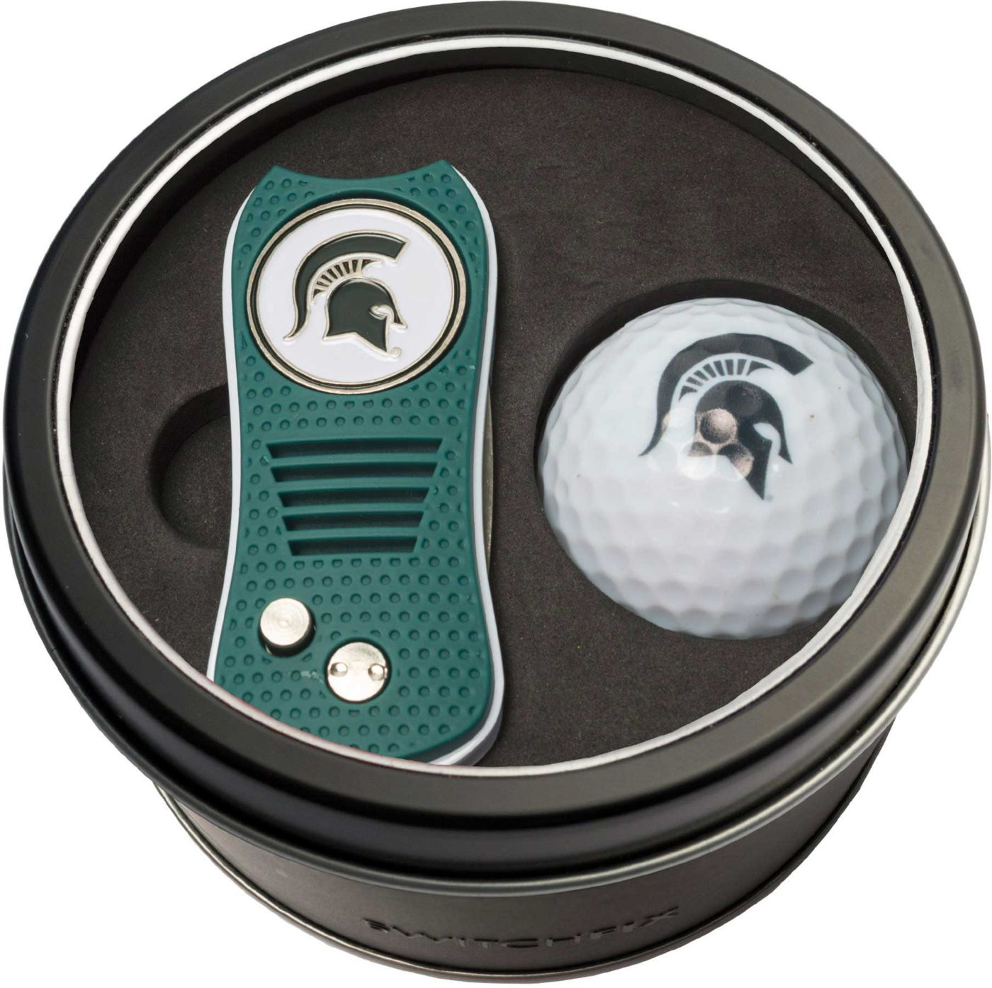Team Golf Michigan State Spartans Switchfix Divot Tool and Golf Ball Set