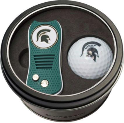 Team Golf Michigan State Spartans Switchfix Divot Tool and Golf Ball Set