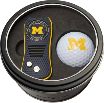 Team Golf Michigan Wolverines Switchfix Divot Tool and Golf Ball Set