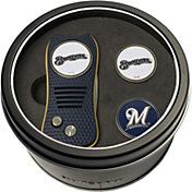 Team Golf Milwaukee Brewers Switchfix Divot Tool and Ball Markers Set