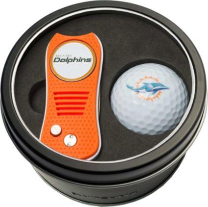 Team Golf Miami Dolphins Switchfix Divot Tool and Golf Ball Set