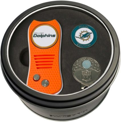 Team Golf Miami Dolphins Switchfix Divot Tool and Cap Clip Set