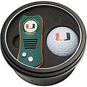 Team Golf Miami Hurricanes Switchfix Divot Tool and Golf Ball Set