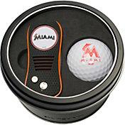Team Golf Miami Marlins Switchfix Divot Tool and Golf Ball Set