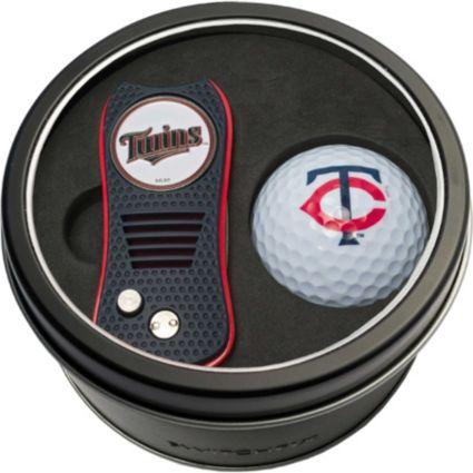 Team Golf Minnesota Twins Switchfix Divot Tool and Golf Ball Set