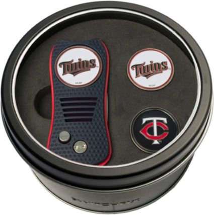 Team Golf Minnesota Twins Switchfix Divot Tool and Ball Markers Set