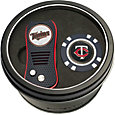 Team Golf Minnesota Twins Switchfix Divot Tool and Poker Chip Ball Marker Set