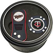Team Golf Minnesota Twins Switchfix Divot Tool and Poker Chip Ball Marker Set