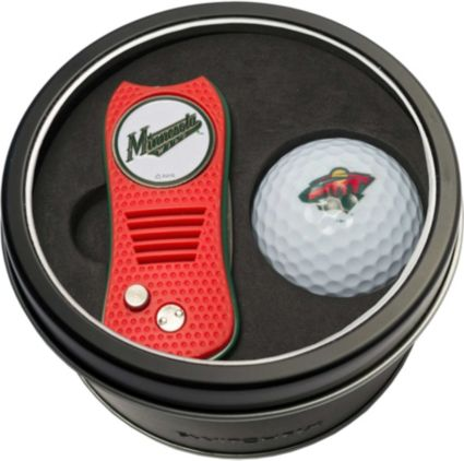 Team Golf Minnesota WildSwitchfix Divot Tool and Golf Ball Set