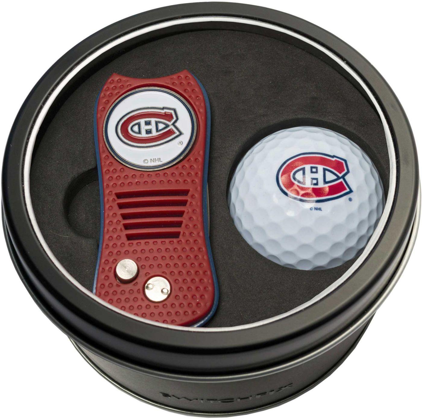 Team Golf Montreal Canadiens Switchfix Divot Tool and Golf Ball Set