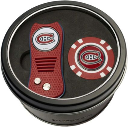 Team Golf Montreal Canadiens Switchfix Divot Tool and Poker Chip Ball Marker Set
