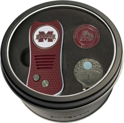 Team Golf Mississippi State Bulldogs Switchfix Divot Tool and Cap Clip Set