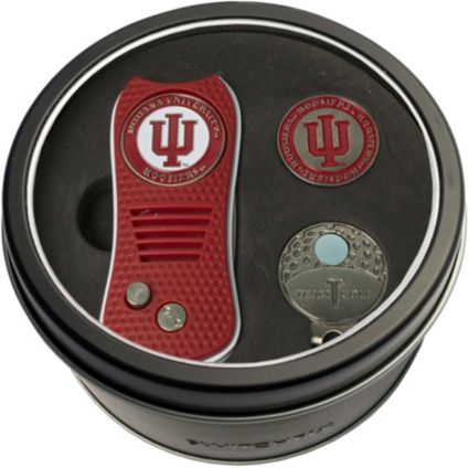 Team Golf Indiana Hoosiers Switchfix Divot Tool and Cap Clip Set