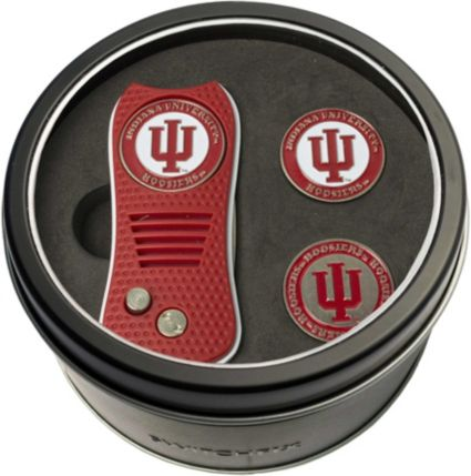 Team Golf Indiana Hoosiers Switchfix Divot Tool and Ball Markers Set