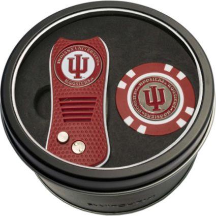 Team Golf Indiana Hoosiers Switchfix Divot Tool and Poker Chip Ball Marker Set