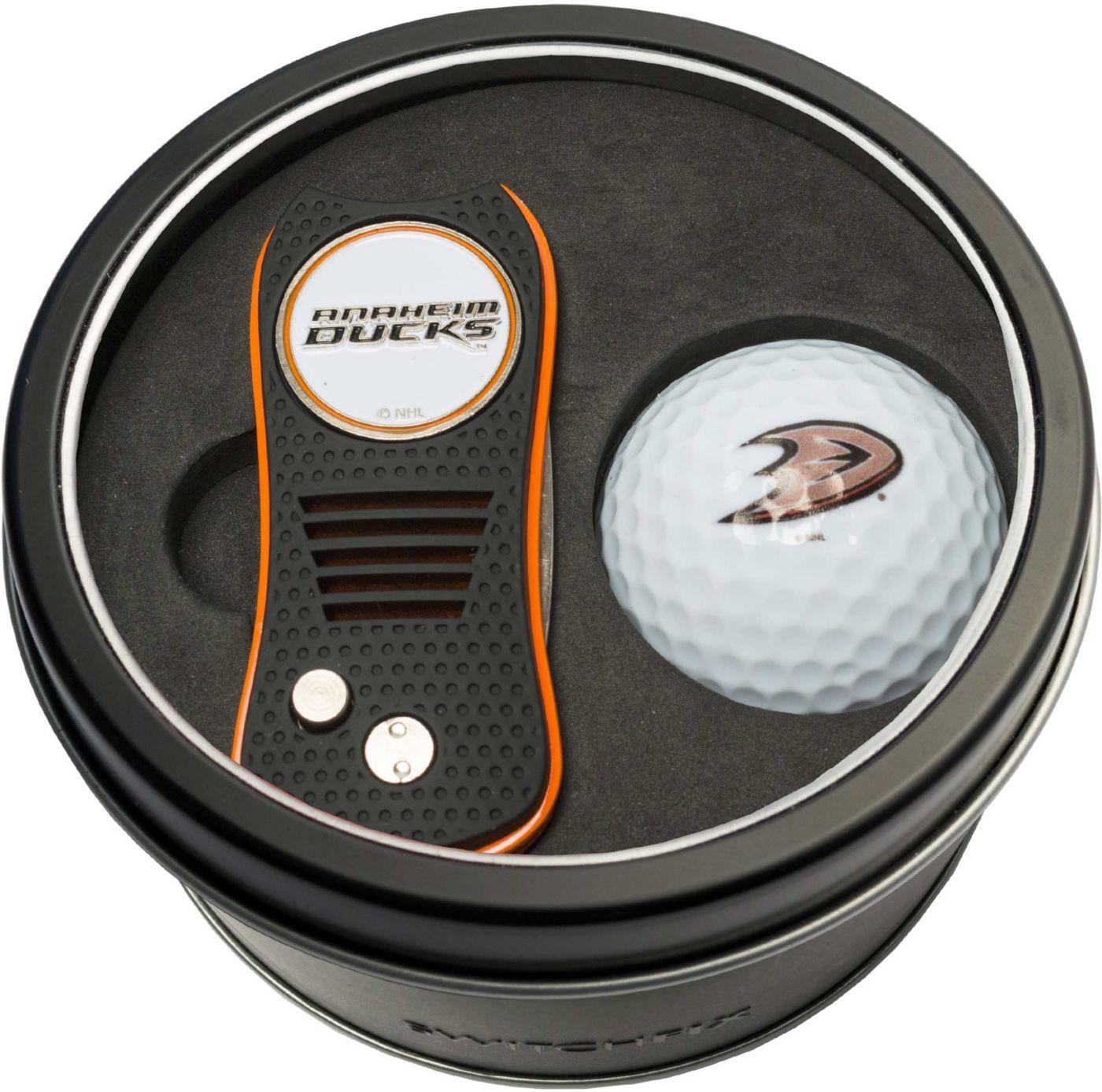 Team Golf Anaheim Ducks Switchfix Divot Tool and Golf Ball Set