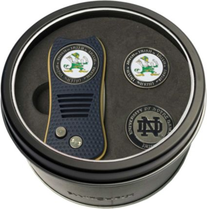 Team Golf Notre Dame Fighting Irish Switchfix Divot Tool and Ball Markers Set