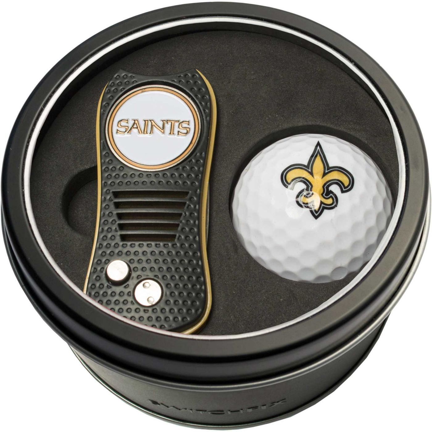 Team Golf New Orleans SaintsSwitchfix Divot Tool and Golf Ball Set