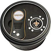 Team Golf New Orleans SaintsSwitchfix Divot Tool and Poker Chip Ball Marker Set